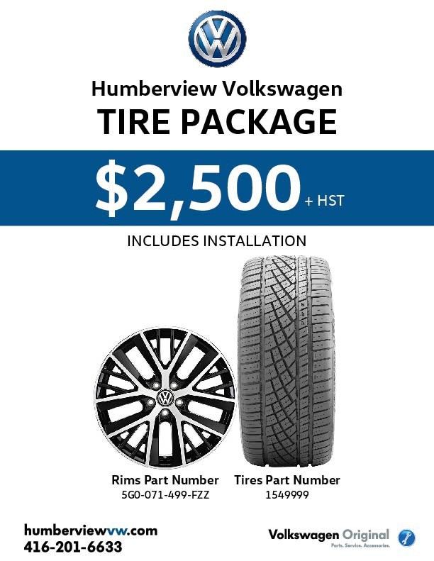 VW All-Season Tire Package