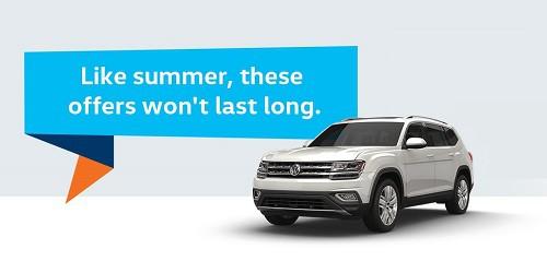 All-New VW Atlas Offers!