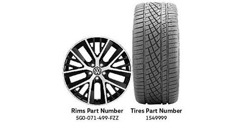 VW All-Season Tire Package