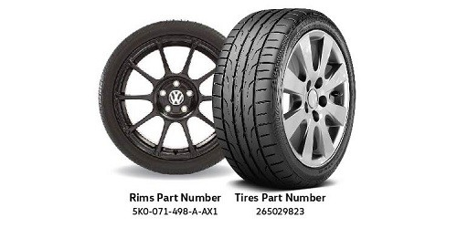 Humberview VW All-Season Tire Package