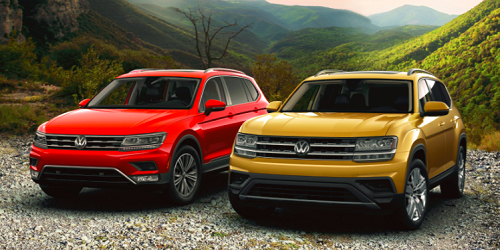 All-New 2018 Atlas and Tiguan October Offers