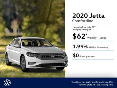 Get the 2020 Jetta!