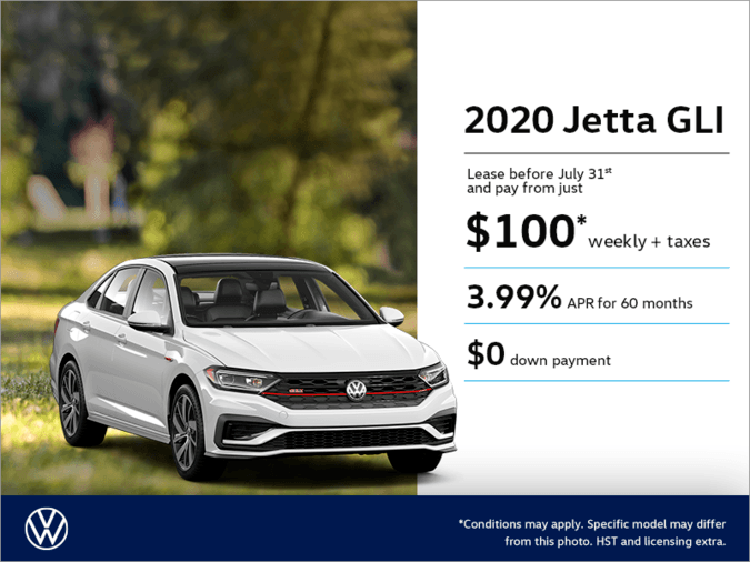 Get the 2020 Jetta GLI