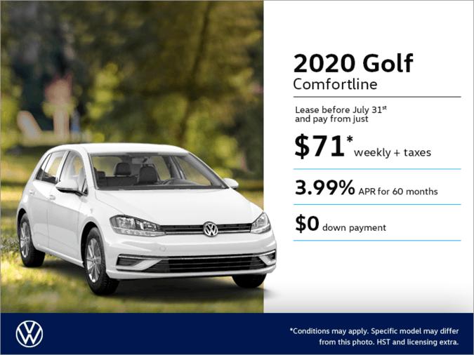 Get the 2020 Golf!