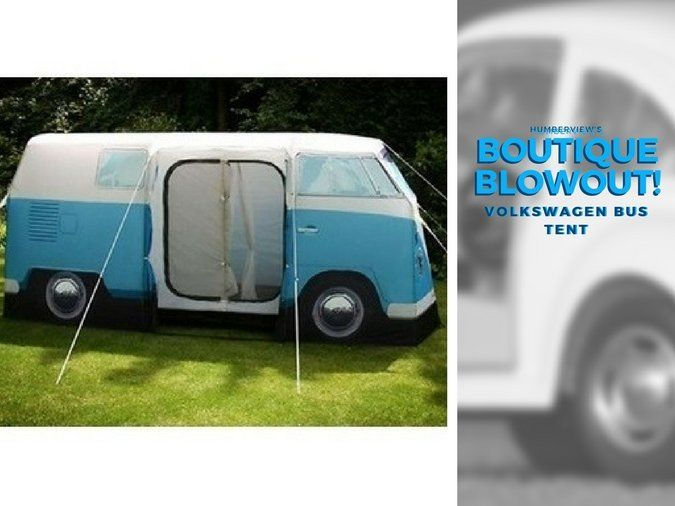 Was $498.25 NOW $420.00 – Volkswagen Bus Tent