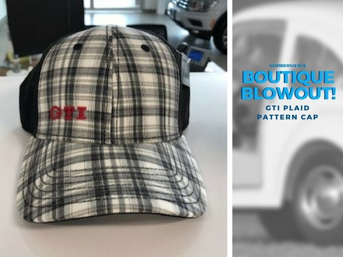 Was $20.99 NOW $15.39 – GTI Plaid Pattern Cap