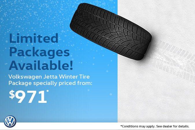 Volkswagen Jetta Winter Tire Package