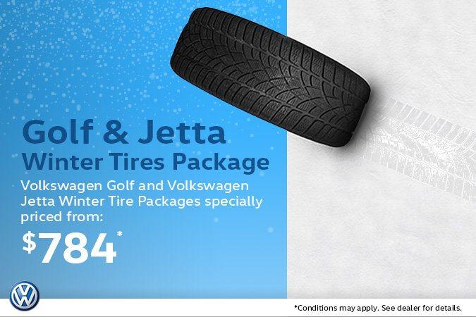 Volkswagen Golf & Jetta Winter Tire Packages