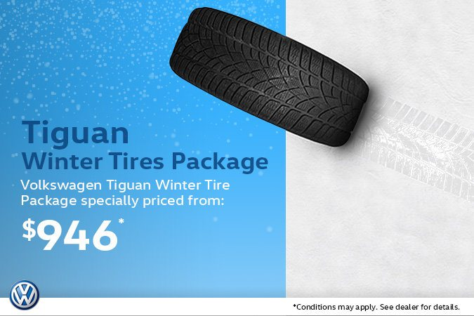 Volkswagen Tiguan Winter Tire Package