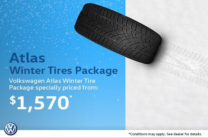 Volkswagen Atlas Winter Tire Package