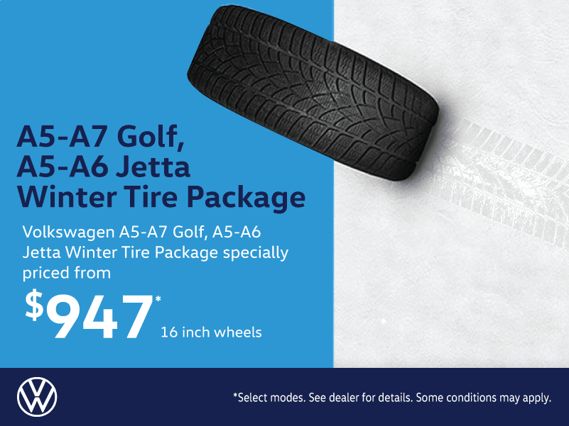 Volkswagen Golf & Jetta Winter Tire Packages