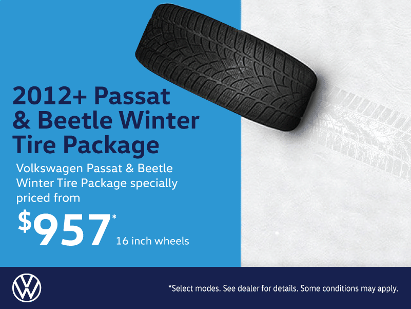Volkswagen Passat & Beetle Winter Tire Packages