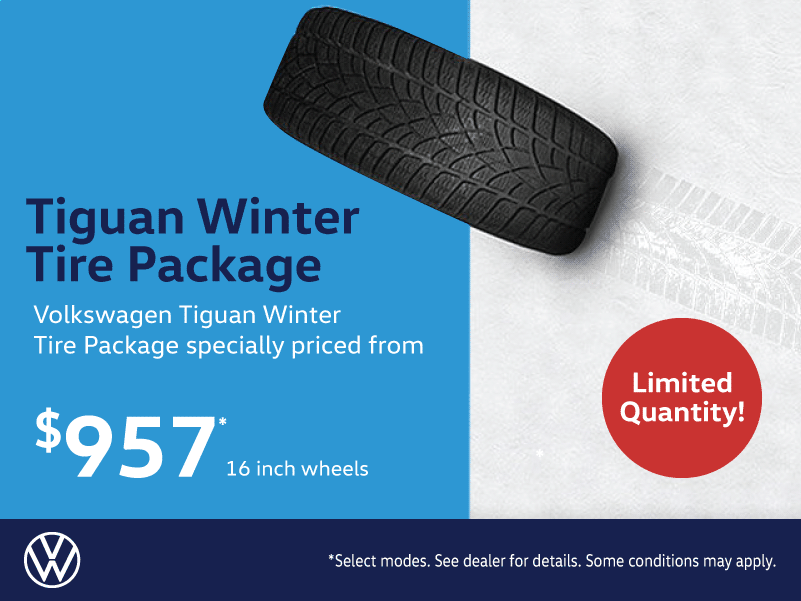 Volkswagen Tiguan Winter Tire Package