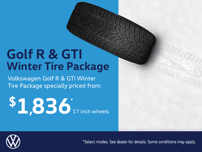 Volkswagen Golf R & GTI Winter Tire Packages