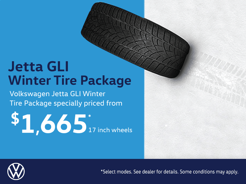 Volkswagen Jetta GLI Winter Tire Package