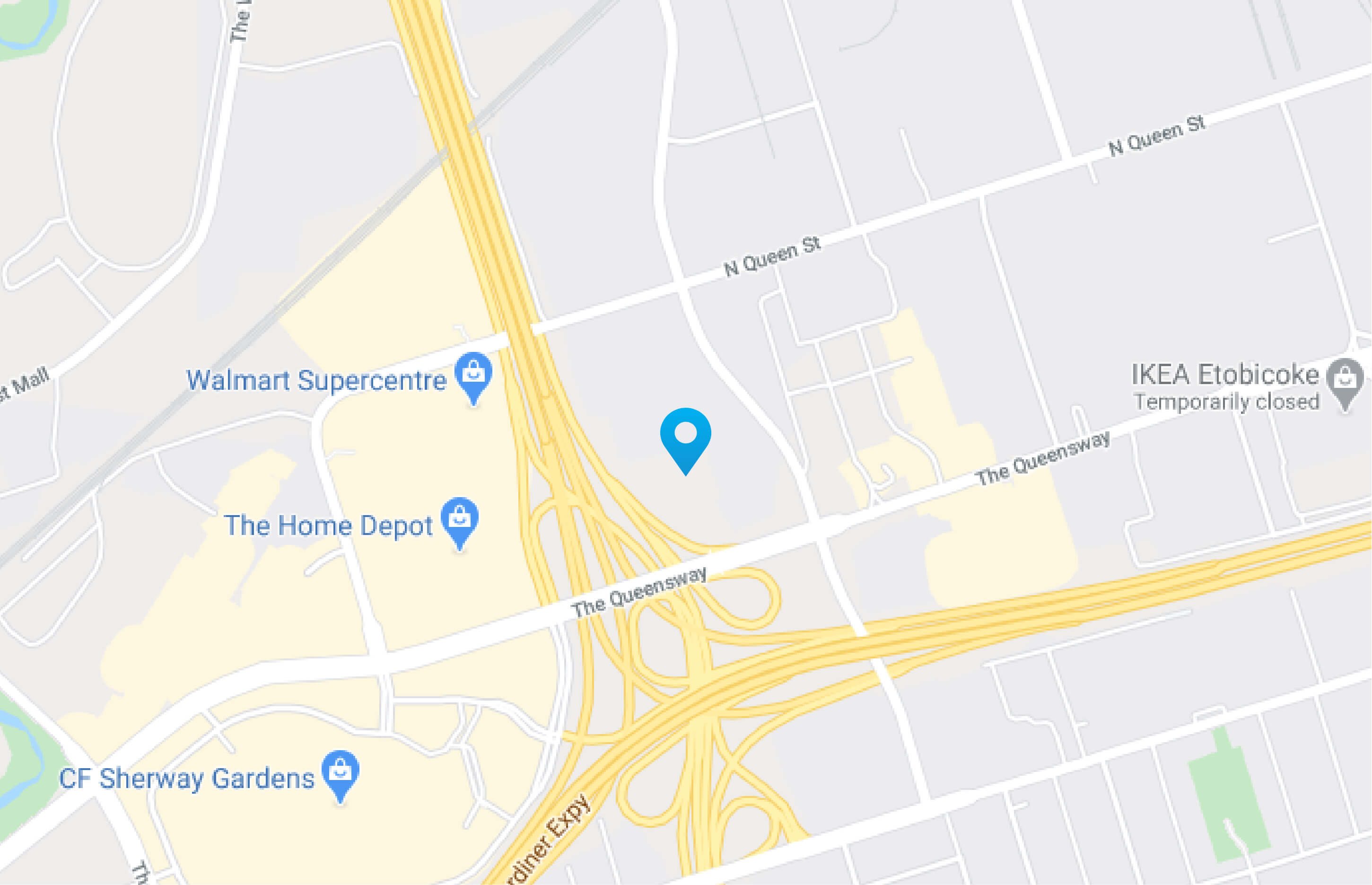 Humberview VW Map