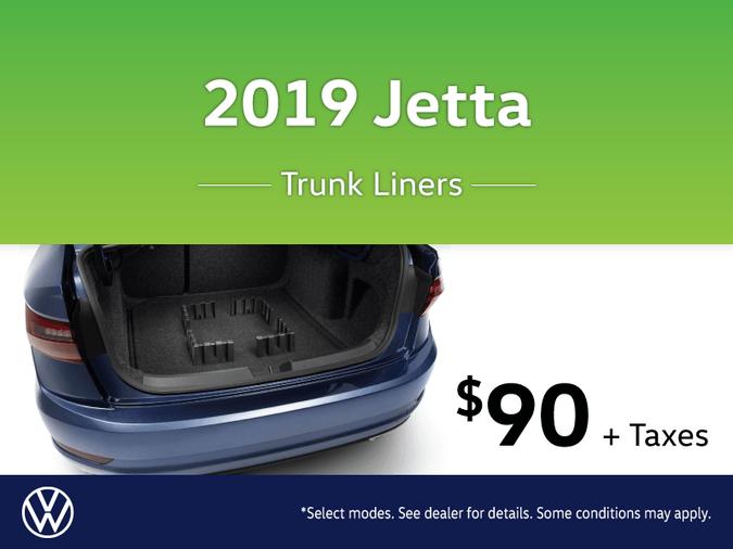 2019 Jetta Trunk Liner Special