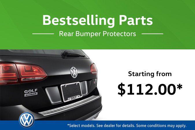 The Hottest VW Parts! Rear Bumper Protectors