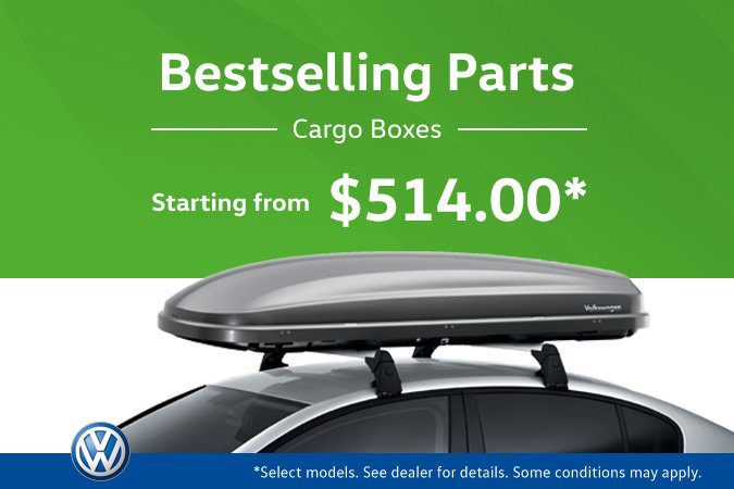 The Hottest VW Parts! Cargo Boxes