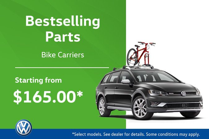 The Hottest VW Parts! Bike Carriers