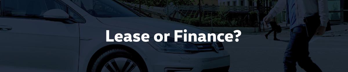 Should I Lease or Finance my Volkswagen?