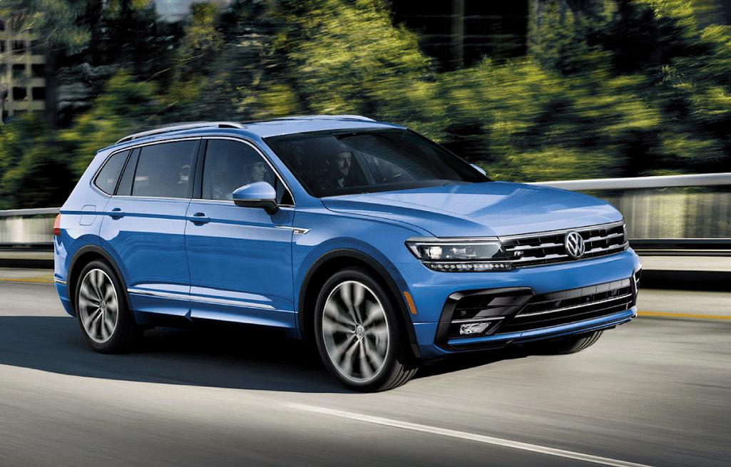 2020 Tiguan Exterior - Humberview Volkswagen