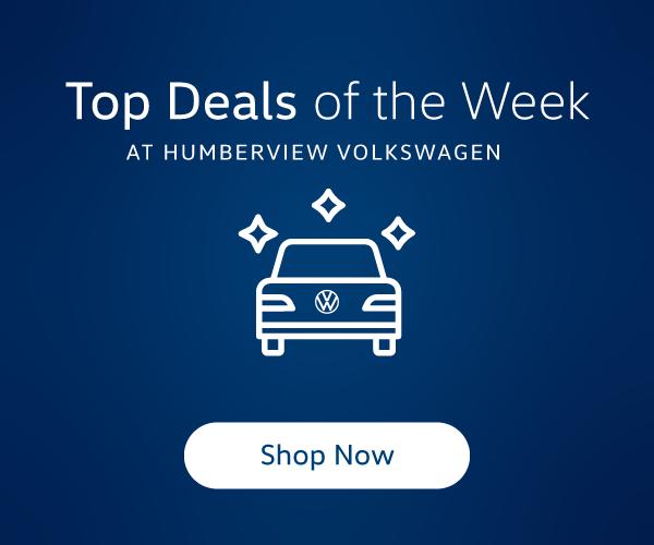 Top Deals of the Week - Humberview Volkswagen
