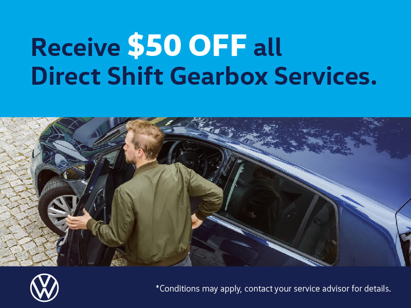 Get $50 Off All Direct Shift Gearbox Services